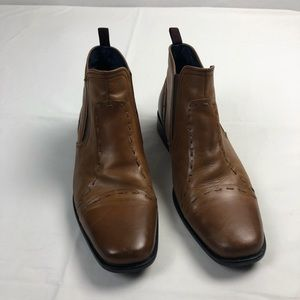 Bachrach | Men's Leather Ankle Boots